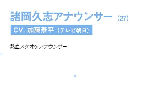ユーリ!!! on ICE 諸岡久志