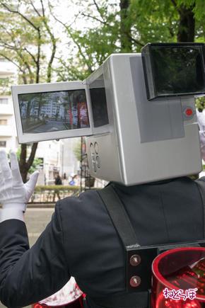 池袋ハロウィンコスプレフェス2016 映画泥棒 モニター
