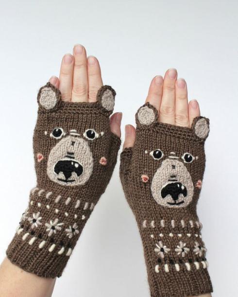 クマさん手袋