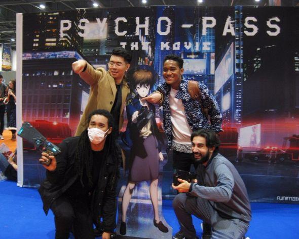 PSYCHO-PASSブース