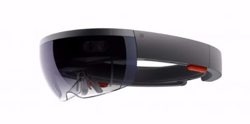 HoloLens マイクロソフト Microsoft メガネ型デバイス ホログラフィックコンピューター