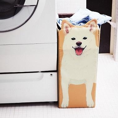 かしこい柴犬収納ボックス