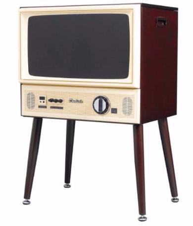 20型3波液晶テレビ ブラウン管テレビ モチーフ ヴィンテージテイスト ドウシシャ 昭和