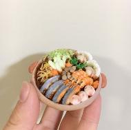 アイシングクッキーで作った海鮮鍋