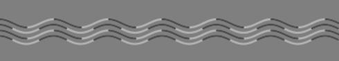 2種類の波線の比較画像