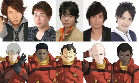 「CYBORG009 CALL OF JUSTICE」キャスト