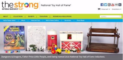 ダンジョンズ&ドラゴンズ 殿堂入り ストロング博物館 おもちゃ 玩具