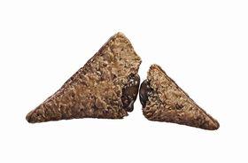 三角チョコパイ 黒 白