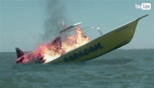 某怪獣映画風なサメ・パニック映画 「シン・ジョーズ」が発売