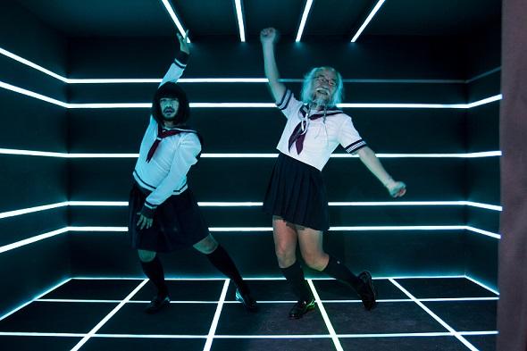 Toffieさんが好きだというPerfumeのPVを思わせるショット。もしかしたらこんなアイドル活動をする姿が見れる日が来るかも……?
