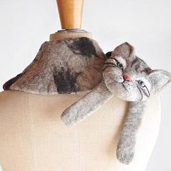 ネコの巻き物
