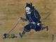 リアル猫侍とネット騒然の「よろいを着た猫を散歩させる猫耳の武士」、実は現代アートだった なぜ生まれたのか作者に聞いた