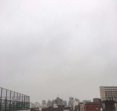 スカイツリー 消えた 雪 Twitter 写真 マジック