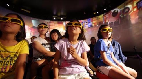 VRシアター 4D王 タイトーステーション セブンパークアリオ柏店 360度 スクリーン