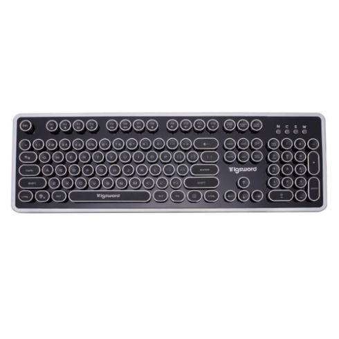 欧文タイプライターのようなキーボード