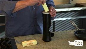 バターをスプレーできる最強クッキングアイテムが登場