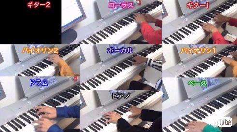 星野源 恋 逃げるは恥だが役に立つ 全部 俺×13人 演奏 耳コピ