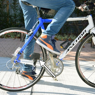 モバイルバッテリー 自転車