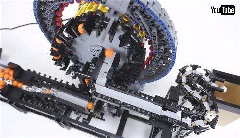 レゴで波動歯車装置型の玉運び装置を制作した猛者が現る