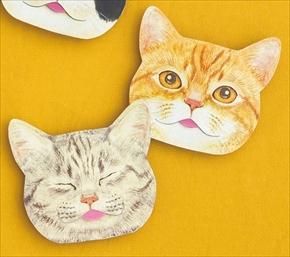 猫の舌のあぶらとり紙