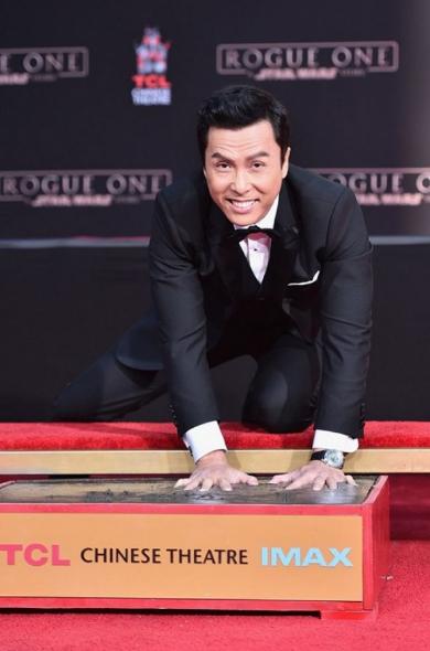 ハリウッド殿堂入りを果たしたドニー・イェン