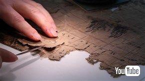 17世紀の地図がスコットランドの煙突から発見される