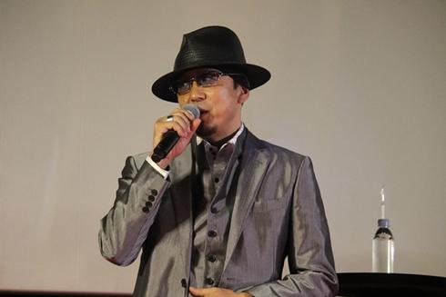 「龍が如く6 命の詩。」完成披露会の黒田崇矢さん