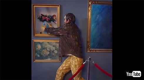 絵画のラブコール