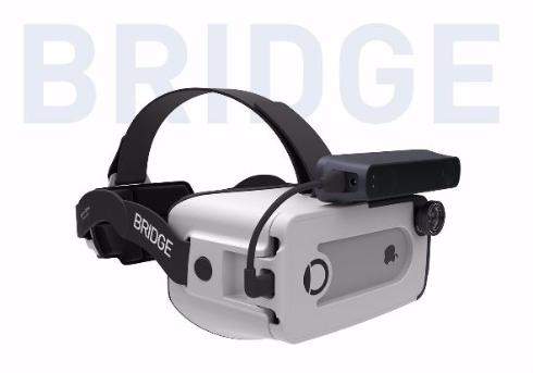 VR/MRヘッドセット「BRIDGE」