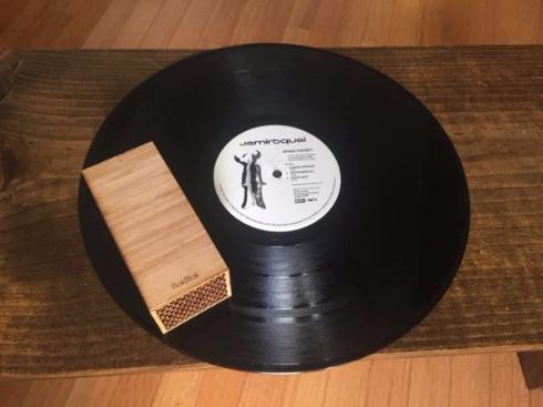 レコード プレーヤー 走る RokBlok ワイヤレス Kickstarter