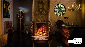 まきが燃えるだけの「暖炉動画」業界にMARVELが殴り込み