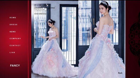 佐々木希 ウエディングドレス