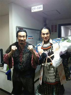 真田幸村役の堺雅人さんとの2ショット