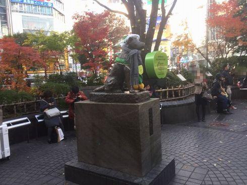 渋谷 喫煙所 ハチ公前広場