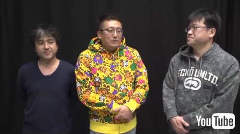 ムロツヨシさん、福田監督、佐藤二朗さん