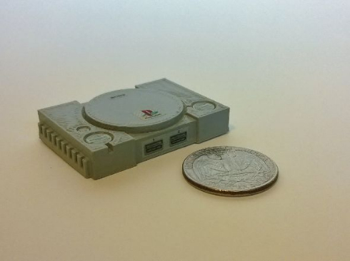 ゲーム機 フィギュア 3Dプリント 小さい Esty