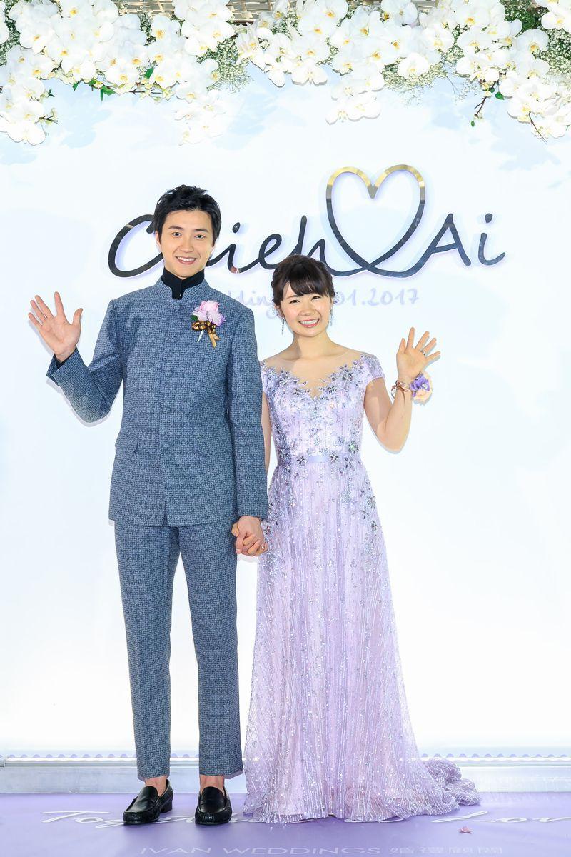 福原愛 台湾で結婚披露宴 星空ウェディングドレス でニッコリ ねとらぼ