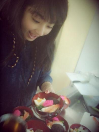 平祐奈ブログ「お雑煮作り」