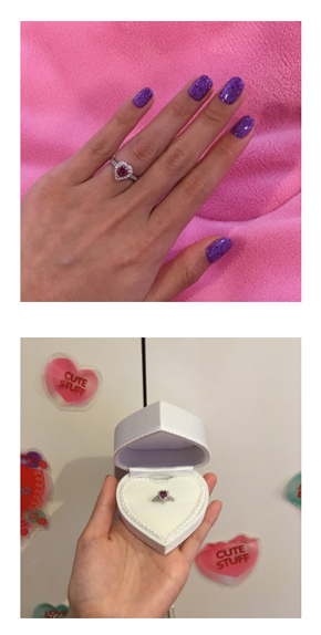 ぺこ 婚約指輪