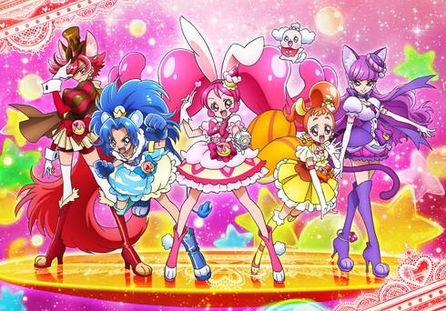 2017年のプリキュア「キラキラ☆プリキュアアラモード」のキャストが発表