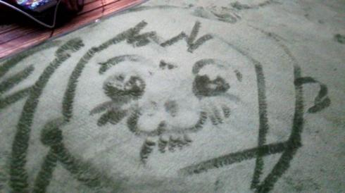 絨毯 お絵かき ゴン ジョジョ 城之内 Twitter
