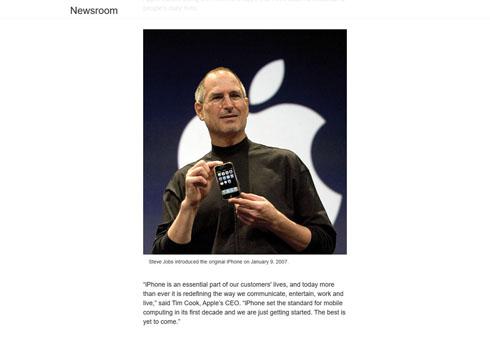 iPhone10周年