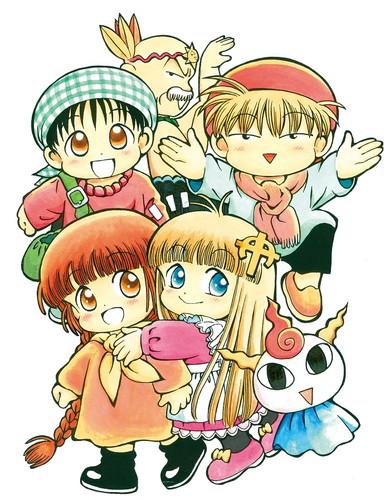 RPG風ギャグファンタジー漫画「魔法陣グルグル」の新作テレビアニメが制作決定