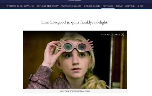 ルーナ役の活動を一時的に休止することを発表したイヴァナ・リンチ