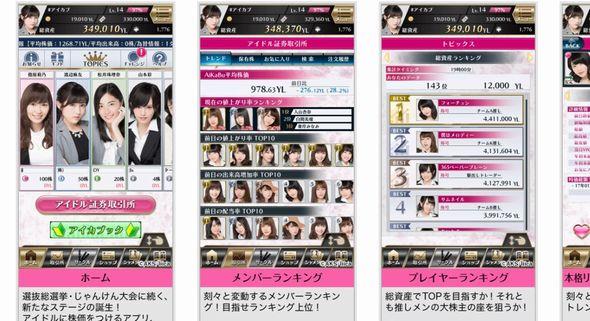 AKB48 株 アプリ AiKaBu