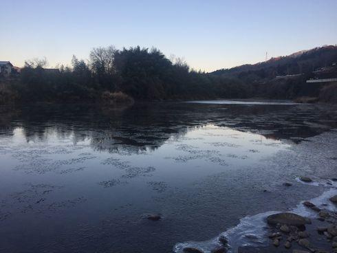 袋田の滝 凍結