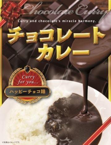 とにかくマズイ チョコレートカレー ハッピーチョコ味 ヴィレッジヴァンガード