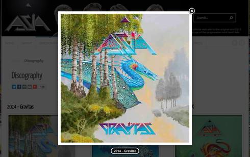 最後のアルバムはエイジアの「Gravitas」に