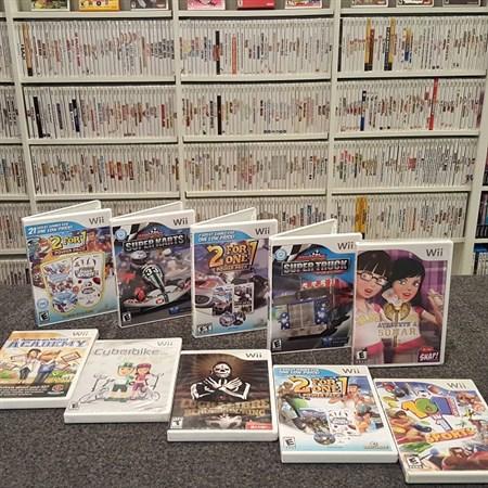 Wii用ソフト・全1262種類をコンプしたコレクターが登場 「集めるなら安くなってる今のうち」