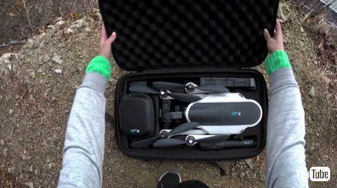 GoPro Karma ドローン リローンチ 再設計 再販売